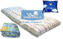 Комплект спального места для общежития надежный KO-70 - фото 4640